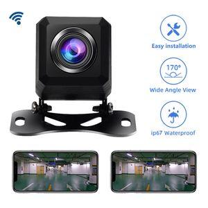 2020 neuer Beruf BackUp Rückseitenkameras HD-Rückfahrkamera Stützandroide und Ios Wifi Car Front und Rückfahrkamera