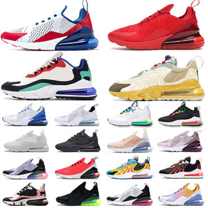 2019 Max 270 scarpe da corsa di design di lusso per uomo da donna scarpe da ginnastica sportive triple bianche nere Blooming Floral Prints 36-45