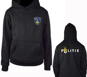 Netherlands Politie Special Swat Unit Force Men Hoodies Fashion Fleece Hoody Sweatshirt Jacket Harajuku55