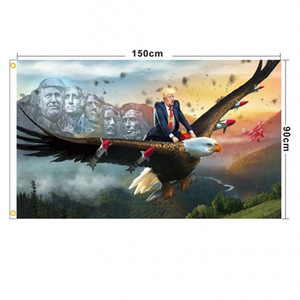 Trump Flags Election Women for Trump 3x5 Feet 100D Polyester 150x90cm Banner for Presidential Election Flags DHL Shipping