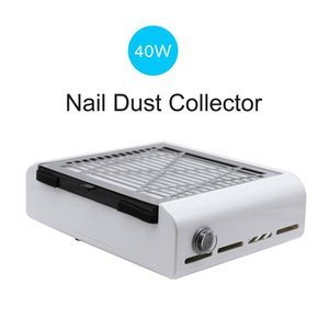 SP-002D 2 in 1 Nail Drill 40W Strong Nail Dust Collector Vacuum Cleaner Nails Art Tool Manicure Pedicure MachineRabin