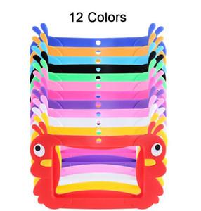 Cartoon di protezione della copertura della cassa del gel della gomma Bambini morbido silicone copertura di gomma per 7 pollici Q88 A13 A23 A33 Q8 Android Tablet PC 12 colori