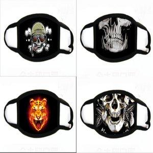Clown Soul-Tornando 2 mascherina mascherine di stampa Cosplay alloween partito Pennywise Orror Ead Er del gioco di ruolo divertente Fa Mask # 490