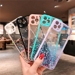 Bling Glitter souple en silicone pour iPhone X 11 11Pro 7Plus 8Plus iPhone 11 pro max 7 7S 8 Plus Cell Phone Cover 50X DHL