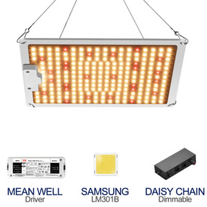 Promotion Full spectrum Quantum Samsung LED Grow Light 100W Dimmable 3000k+5000k+660nm+IR with Meanwell driver For Indoor Plants