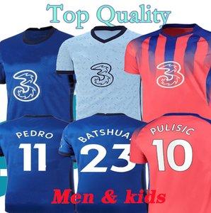 2021 PULISIC ZIYECH WERNER ABRAHAM MOUNT HAVERTZ KANTE GIROUD CHILWELL soccer jerseys 20 21 T.SILVA football shirt Men kids kit Uniform 4XL