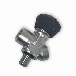 Bon prix 30MPa HP Réservoir d'air Valve en fibre de carbone Cylindre PCP Valve bouteille de gaz Valve pour appareils respiratoires autonomes Équipement