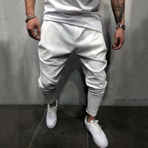 Men Harem Pencil Pants Slim Fit Ankle-tied Pants Joggers Trousers Male Casaul Harem Pants Solid Sportswear