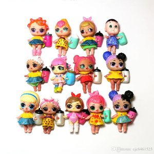 9CM LoL Dolls with feeding bottle Clothes 15 Styles Kawaii Children Toys Anime Action Figures Realistic Reborn Dolls for Kids