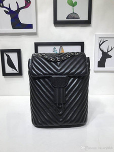 Nuevo top ventas diseñador de moda de las mujeres del morral de lujo bolsos del diseñador monederos bolso con cuero de los bolsos de hombro mochila grande dama