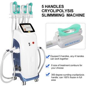 2020 завод система цен Cryolipolysis целлюлит жир замораживание Cryolipolysis машина германии ручки криотерапии системы с 5 ручками