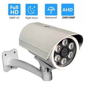 OwlCat 1080P 2.0MP 4MP Full HD AHD Kamera Açık Su geçirmez IP66 Güvenlik Gözetleme CCTV Kamera 6PCS Dizisi IR LED
