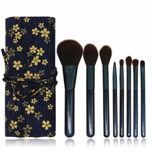 8 Pcs Make Up brushes for makeup Tool Eye Brush Eyeshadow Eyeliner pinceaux maquillage Nose Smoky Eyebrow beauty Comestic Set