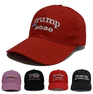Trump Baseball Cap Outdoor Sports sun block Cap Casual Baseball Hats Ball Caps Keep America Great Presidential Election Party Hat GWF1921