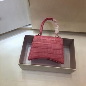 Дизайнер Crossbody сумка женщин сумки моды роскошь лоскут мешок HOURGLASS TOP HANDLE BAG дизайнер плечо сумки кошелек с пряжкой B