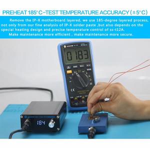 SS-T12A para X Mainboard estratificada Tabela Aquecimento Station Desmontagem Aquecimento 185 graus preciso uma separação rápida de ferramentas