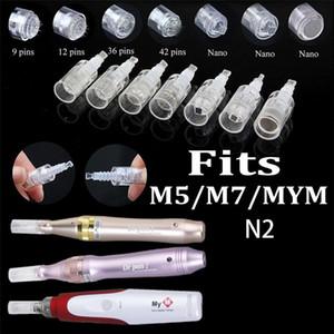 50pcs 1 3 5 7 9 12 36 42 Nano Needle Cartridge for Derma pen Micro Needle DR. Pen For Dermapen