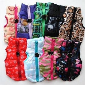 Evcil Kış Ceket Sıcak Pet Giyim XL S L Köpek Kaban Ceket Köpek Kış Pet Elbise DHE1078
