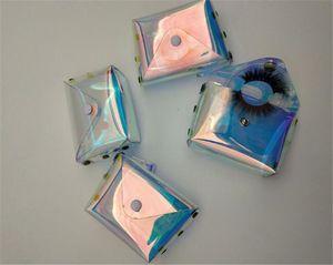 NEW Eyelashes Packing Boxes False Eyelash Bag Lashes Package Storage Cases Makeup Cosmetic Case Mink Gift box free shipping