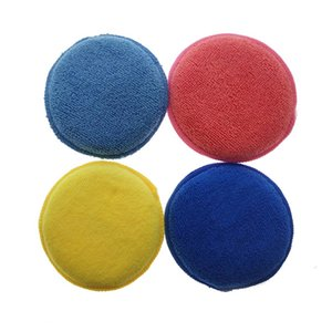 10cm wax applicator pad for car and cleaning car20090402