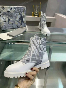 Designer femme chaussures de sport loisir hommes de lettres de la plate-forme bottes courtes luxe chaussures pour dames Chaussures à lacets