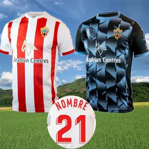 UD Almería Futebol 2020 camisa 21 Union Deportiva Almería GUTI Sekou MUNOZ CHEMA LAZO GASPAR PETROVIC Futebol