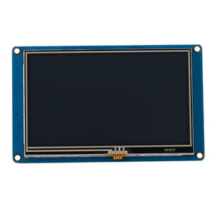 4.3 pollici per Nextion HMI ligente intelligente USART UART modulo LCD Display Panel Press TFT serie Raspberry Pi 2 A + B + Uno R3