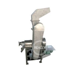 Industriel raisin carotte Juicer Extractor automatique citron pomme fruit jus d'orange faisant la machine avec une partie crusing