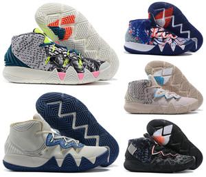 2020 Erkekler Kyrie S2 4 5 6 IV V VI Erkek Irving Basketbol Ayakkabı Boys Kadınlar Yakınlaştırma Sport Sneakers Boyut 7-12