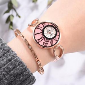 Lvpai Marken-Frauen Uhr-Mode-Luxus Rose Gold-Armband-Dame-Uhr für Frauen-Kleid-Quarz-Armbanduhr Relogio Feminino
