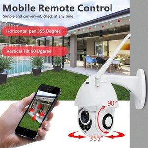 와이파이 카메라 야외 네트워크 카메라 1080p의 고속 돔 CCTV 보안 IP 카메라 외관 적외선 홈 모니터링