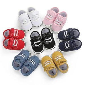 Baby Shoes Children Canvas Shoes 0-18M Old Soft-soled Boys Boy Girls Sports Toddler Casual Shoes Kids Sneakers