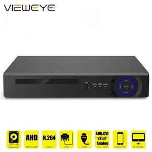 نظام الأمن AHD 1080N 4CH 8CH CCTV DVR البسيطة 5IN1 DVR لCCTV كيت VGA HDMI نفيرا P2P NVR نظام H.265X VGA HDMI