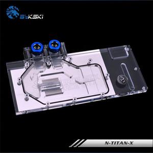 Bykski Full Cover Graphics Card Water Cooling Block use for NIVDIA GTX TITAN-X  GTX980TI Founder Edition GPU Radiator RGB Cooler