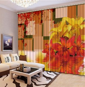 Fashion Customized Custom any size curtains 3d printing fashion decor home decoration for bedroom