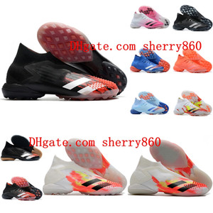 2020 top quality mens soccer shoes Preator Mutator 20+ IN TF soccer cleats indoor turf football boots sneakers scarpe da calcio Breathabl
