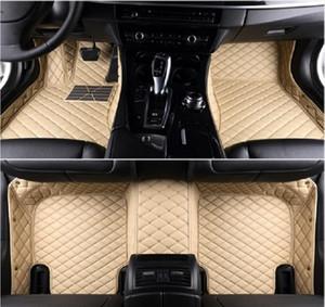 esteras del coche para BMW X5 E70 E53 G05 F15 coches Tapetes Alfombras Auto Mats