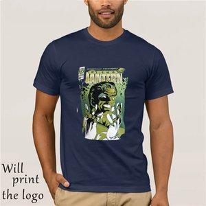 Green Lantern cara cómica Cartel de la liga Justicia licencia Comics hombre de la camiseta