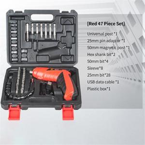 Профессиональные электрические отвертки 3,6 В металлический резиновый мини-отверткой, перезаряжаемый литиевая батарея двусторонняя переключатель дома DIY SE