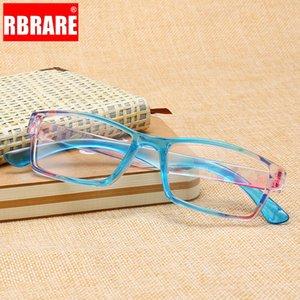 Солнцезащитные очки RBRARE смола, читающие очки прозрачные линзы анти-голубые светлые очки удобные мужчины и женщины старые kkulary