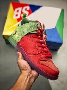 2020 أصيل SB العليا دونك الفراولة السعال الأرجواني عكسي الظربان 213/420 أحذية كرة السلة للرجال جامعة الأحمر السبانخ الخضراء ماجيك الجمرة