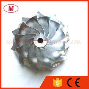 GT15 25 53,11 / 70.97mm 11 + 0 palas Turbo Point Milling Billet rueda de compresor / Aluminio 2618 / rueda Point