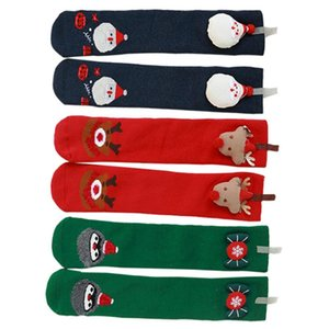 3 Pairs of Baby Christmas Socks Cotton Thickened Stockings Winter Kids Socks