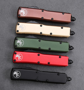 A14 poignée de couteaux automatiques couteau Benchmade de T6061 personnalisé couteau de poche en acier CNC VG10 OUT BM3300 couteau Camping Chasse tactique de survie