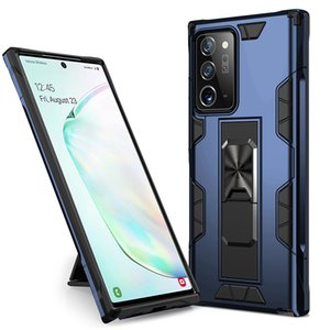 Military Shockproof Phone Case For Samsung Galaxy Note 20Ultra S20 Plus A71 A51 5G A41 A31 A21s A21 A11 A01 Core Magnetic Kickstand Caver