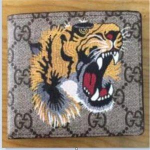 Monedero para hombre del envío libre de cuero de los hombres con 12 carpetas para los hombres del monedero de la carpeta de los hombres con la caja naranja polvo BagZ1X