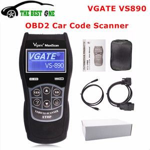 2020 Newest Vgate VS890S OBD2 Diagnostic Scanner VS890 Vgate SCAN Tool VS 890 CAN-BUS Multi-Languages Car Code Reader Free Ship