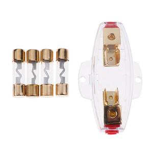 AGU alta calidad a largo portafusibles 0 4 8 Gauge 20A 40A 60A 80A fusibles