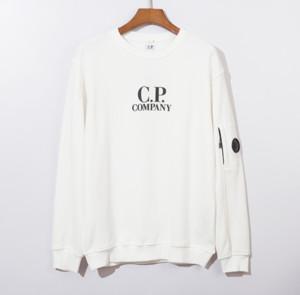 Whoesale CP Erkek Ceket Marka Kapüşonlular Casual Uzun Kollu Süveter Tasarımcı Firma En Kazak Erkek Lüks Hood O-boyun Kazak 2090801Q