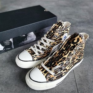 2020 hot sale latest fashion trend high quality leopard pattern print men and women canvas sports casual shoes